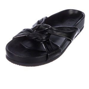 IRO Leather slides